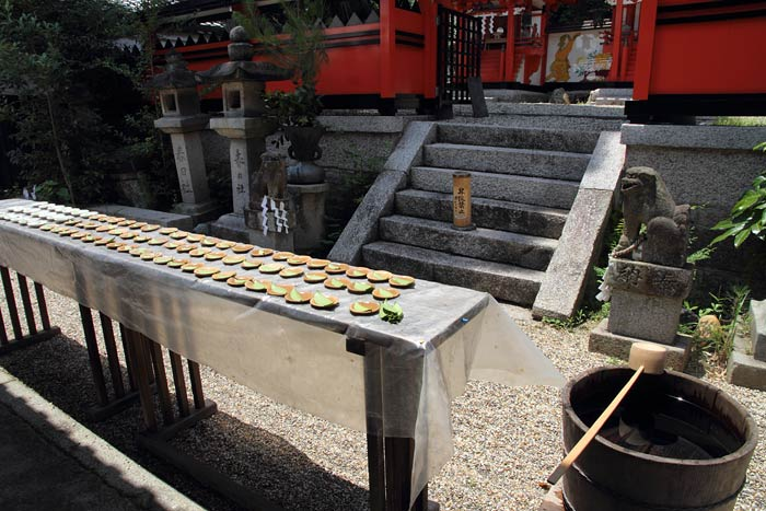 奈良豆比古神社 花摘祭3
