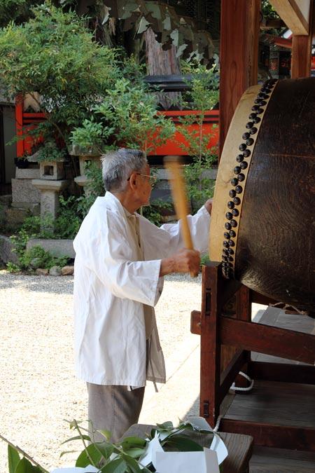 奈良豆比古神社 花摘祭4