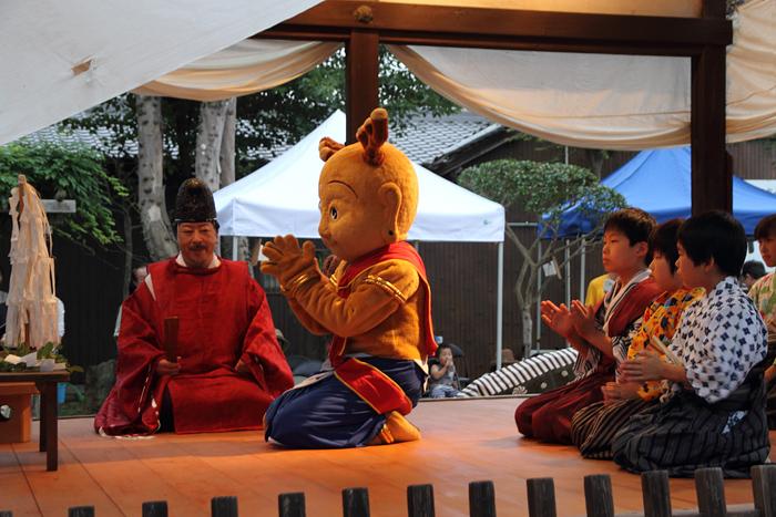 押上八坂神社 夏祭り1