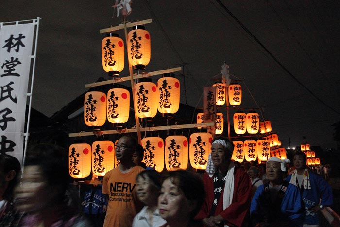 笛吹神社 夏越祭2
