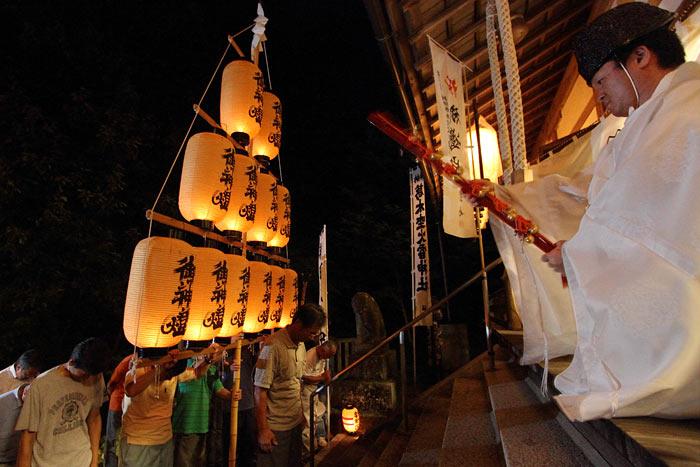 笛吹神社 夏越祭4