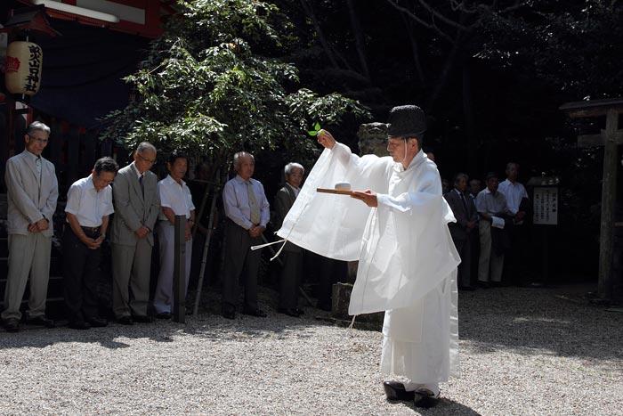 畝火山口神社 デンソソ祭り1