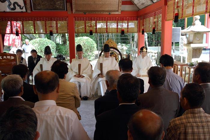 畝火山口神社 デンソソ祭り2
