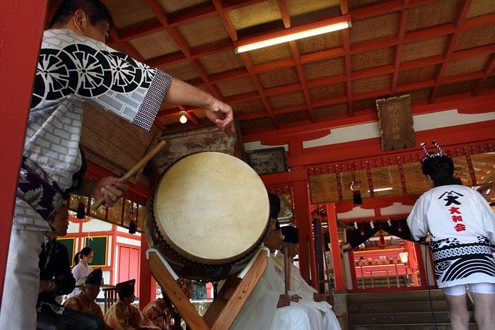畝火山口神社 デンソソ祭り4
