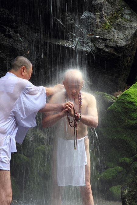 千光寺 滝祭り2
