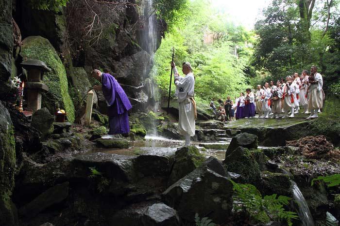 千光寺 滝祭り3