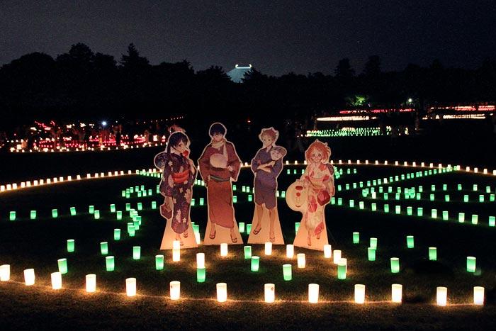 なら燈花会 春日野園地3.