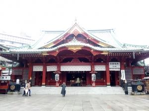 神田神社御神殿