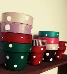 ペイント鉢・3