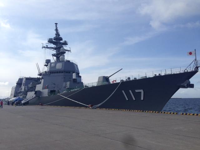DD-117 すずつき 函館