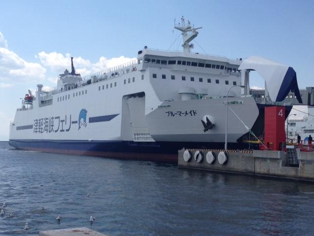 津軽海峡フェリー新造船