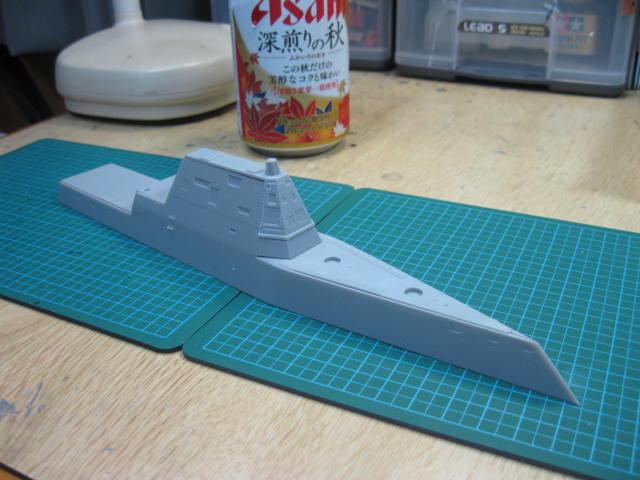 DDG-1000 USS Zumwalt の2