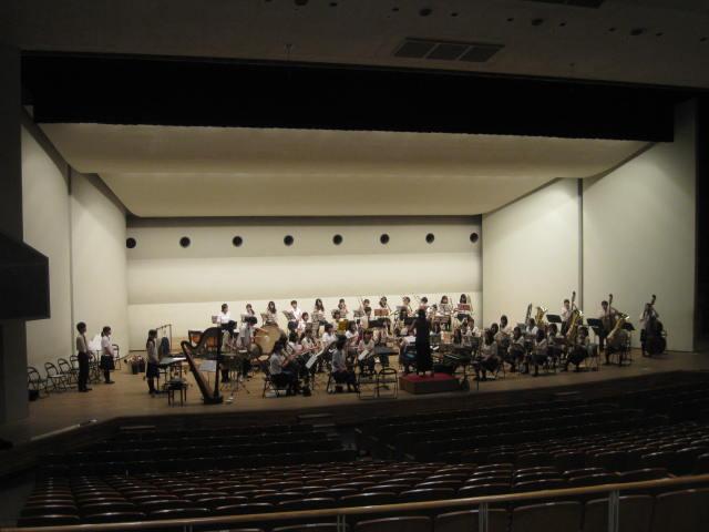 ホール練習 2014・8・31
