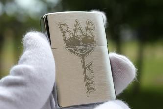 ZIPPO彫刻 Bar Key
