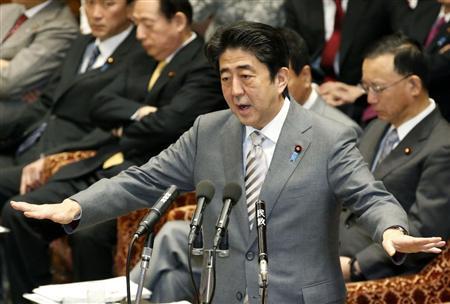 安倍晋三首相-p1