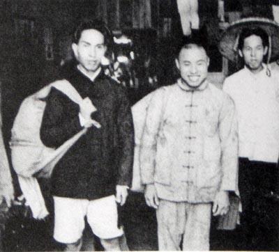 中国兵捕虜たち