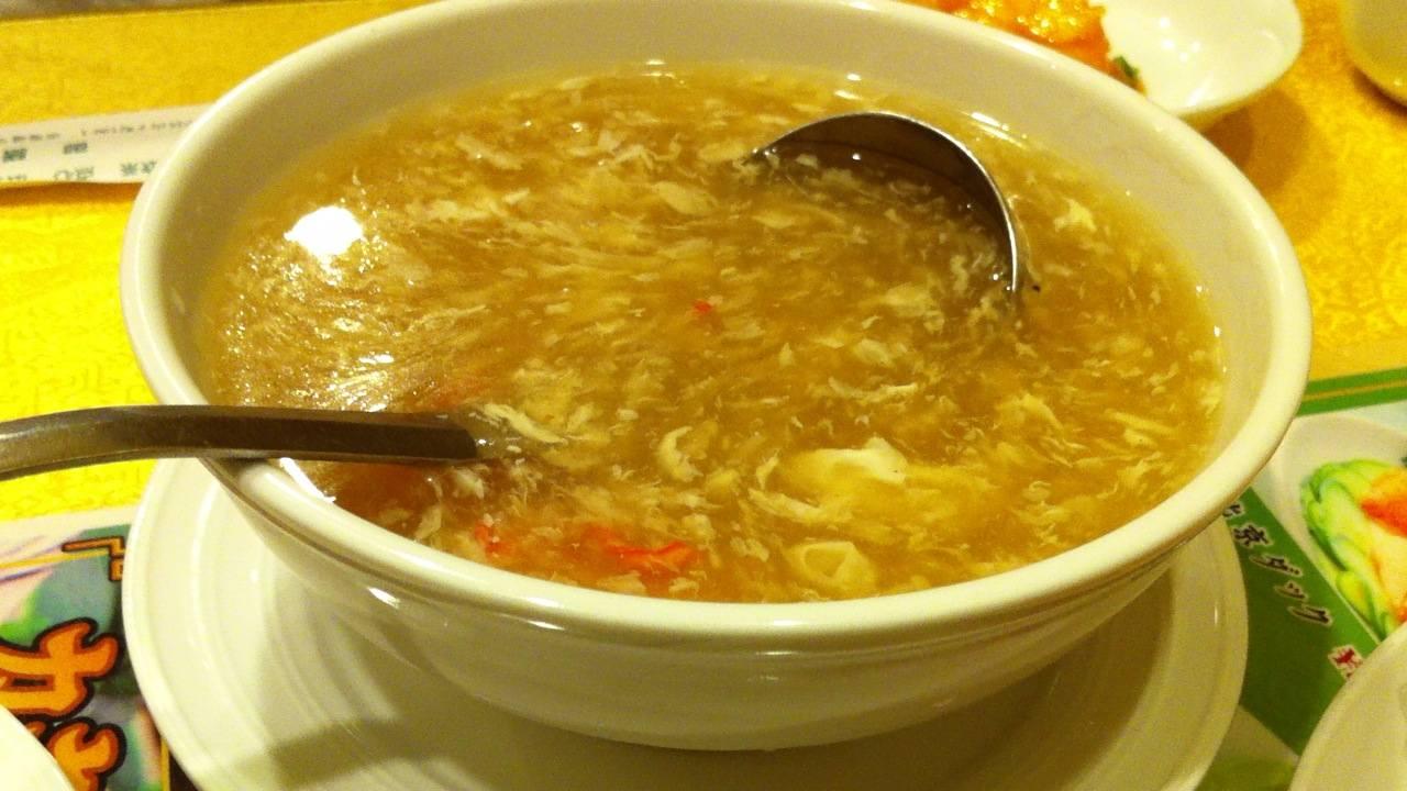 青海星ふかひれスープ