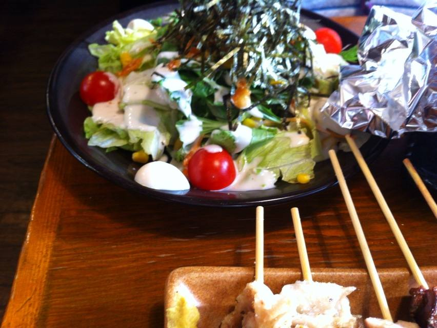 鶏工房サラダ