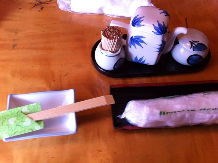 寿司末広卓上