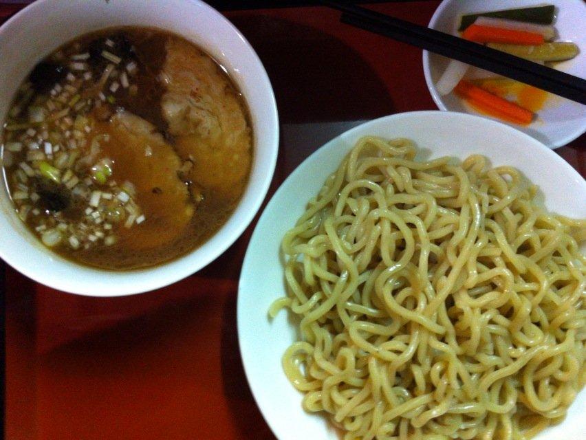 友勝軒つけ麺3