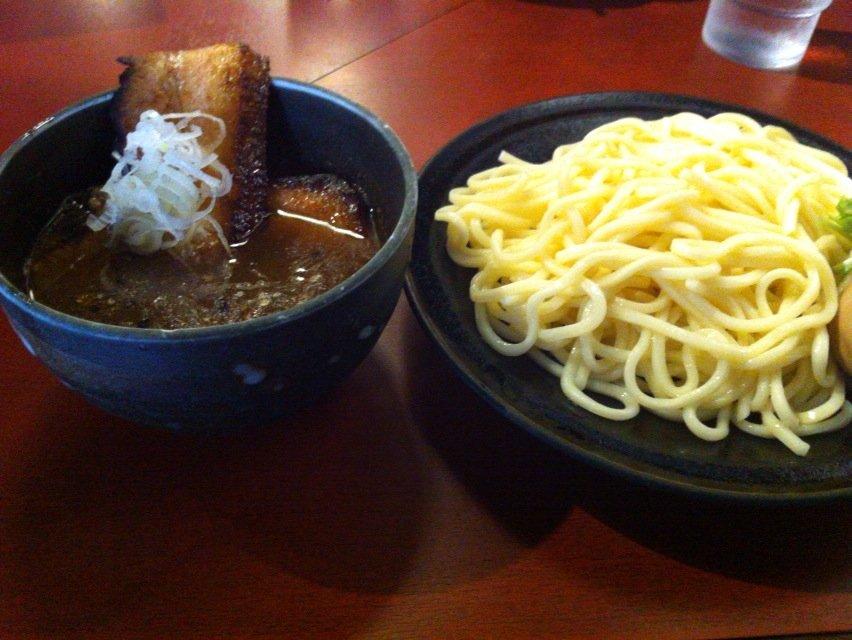 桜花つけ麺