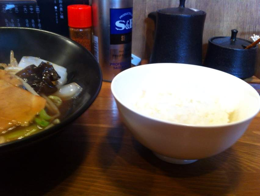 ちぇん麺ライス