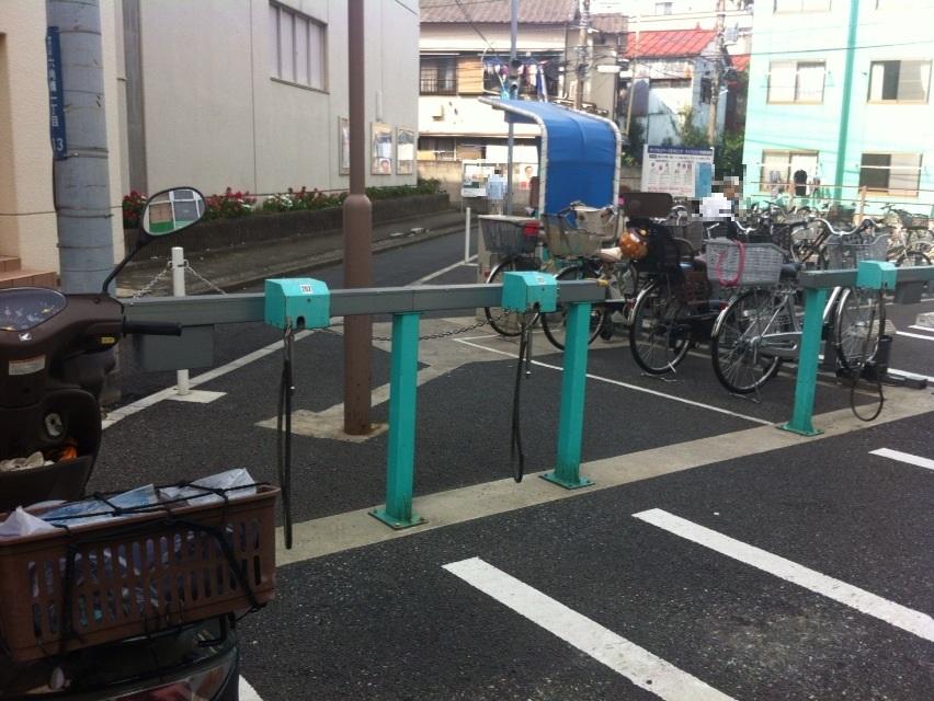 201409くり山駐輪場