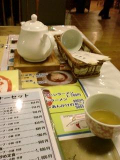 2013年11月03日 蛮蛮飯店・ジャスミン茶
