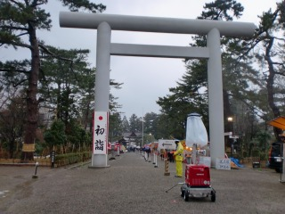 2014年01月01日 荘内神社・鳥居