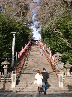 2014年01月11日 八幡宮・階段