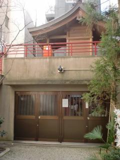 2014年01月26日 野中神社・社殿1