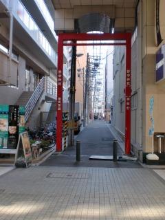 2014年01月26日 野中神社・赤い鉄枠