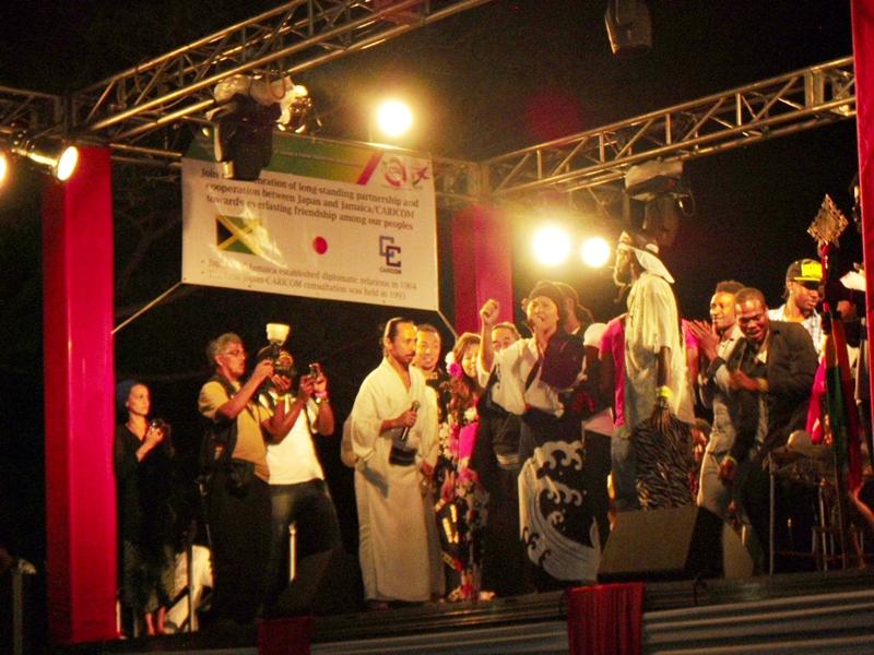 Jamaica Japan festival Kingston Jamaica ジャマイカ 日本祭り キングストン