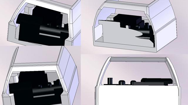 BFマツダファミリアバンにC56が積めるか?検証3D