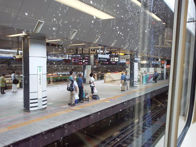 MAXときの二階より 東京駅