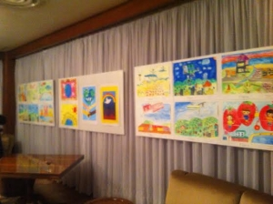 大使館絵画
