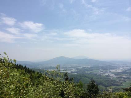 雨巻山展望台から2 20140503