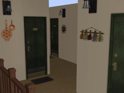 2階に3部屋