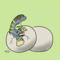 """""""ハツカネズミの爬虫類"""""""