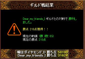 20140413 Dear_my_friends_I様 結果
