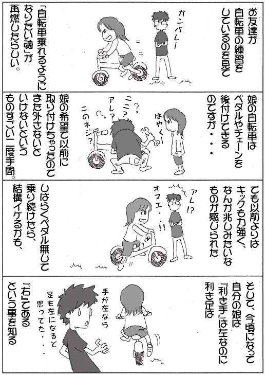 自転車再び