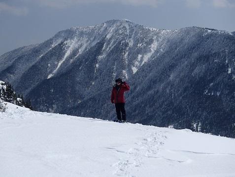 根子岳からの四阿山