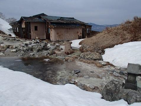 中の湯温泉跡