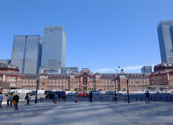 東京駅1〔フリー写真〕