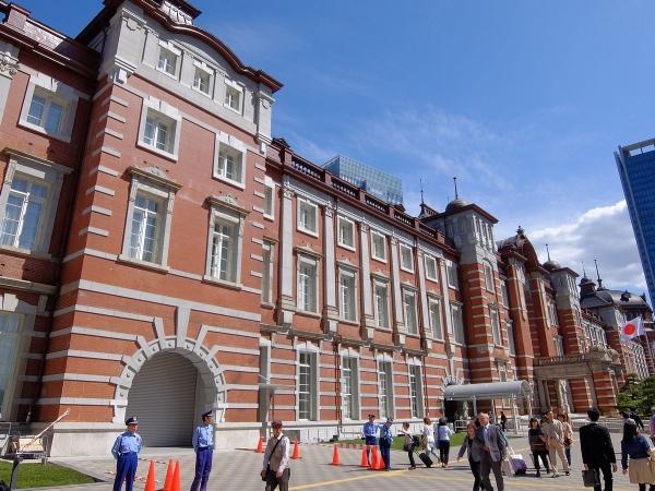 東京駅6〔フリー写真〕