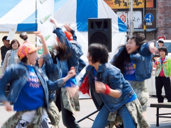 三原駅前 イベント ダンス