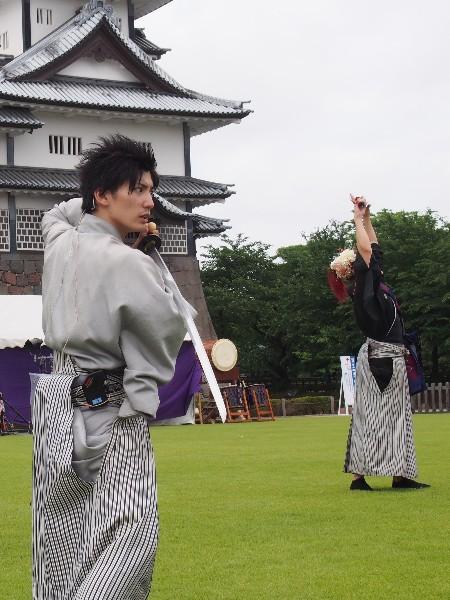 金沢城公園  百万石祭りイベント