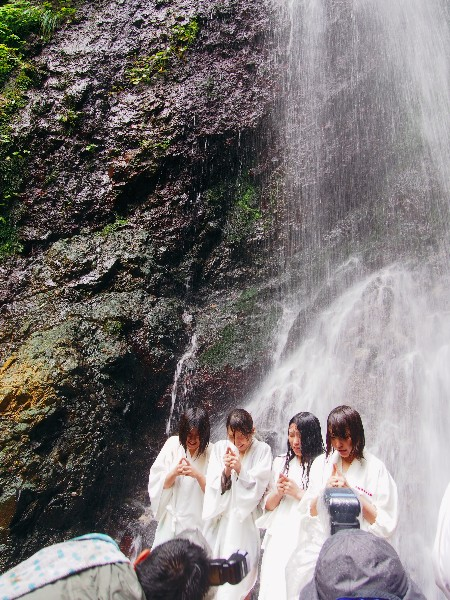 中能登町 不動滝開き 2014年7月5日