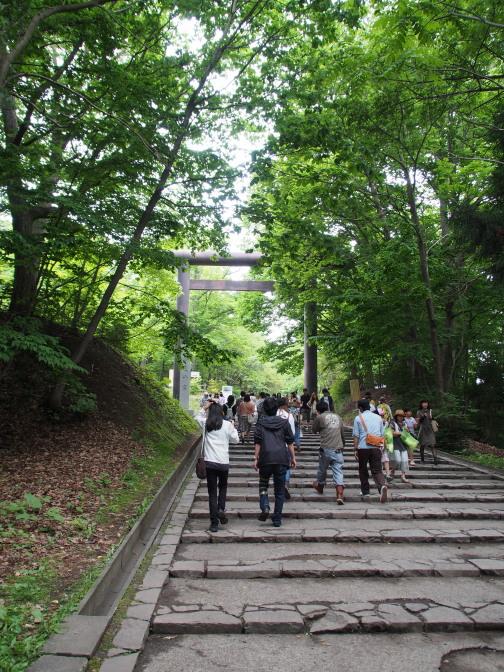 北海道神宮境内