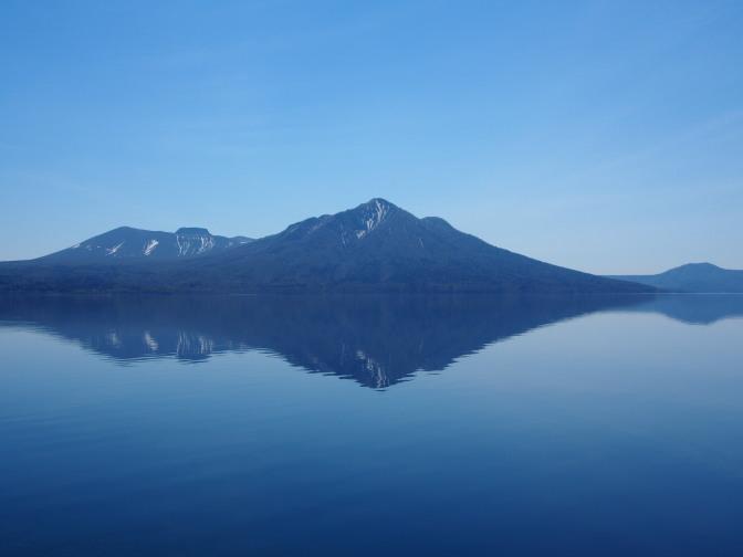 風不死岳と樽前山